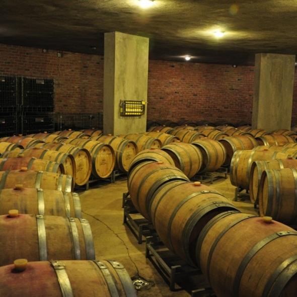 Turkish wine vats