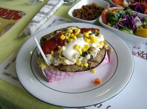 Kumpir - Turkish Baked Potato