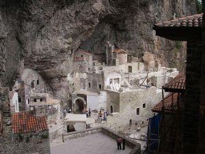 Sumela Monastery complex