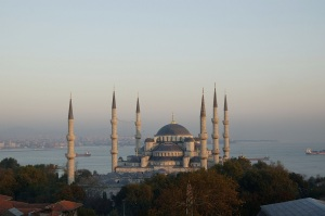 Blue Mosque from rooftop