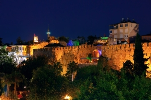 Antalya Old City Walls