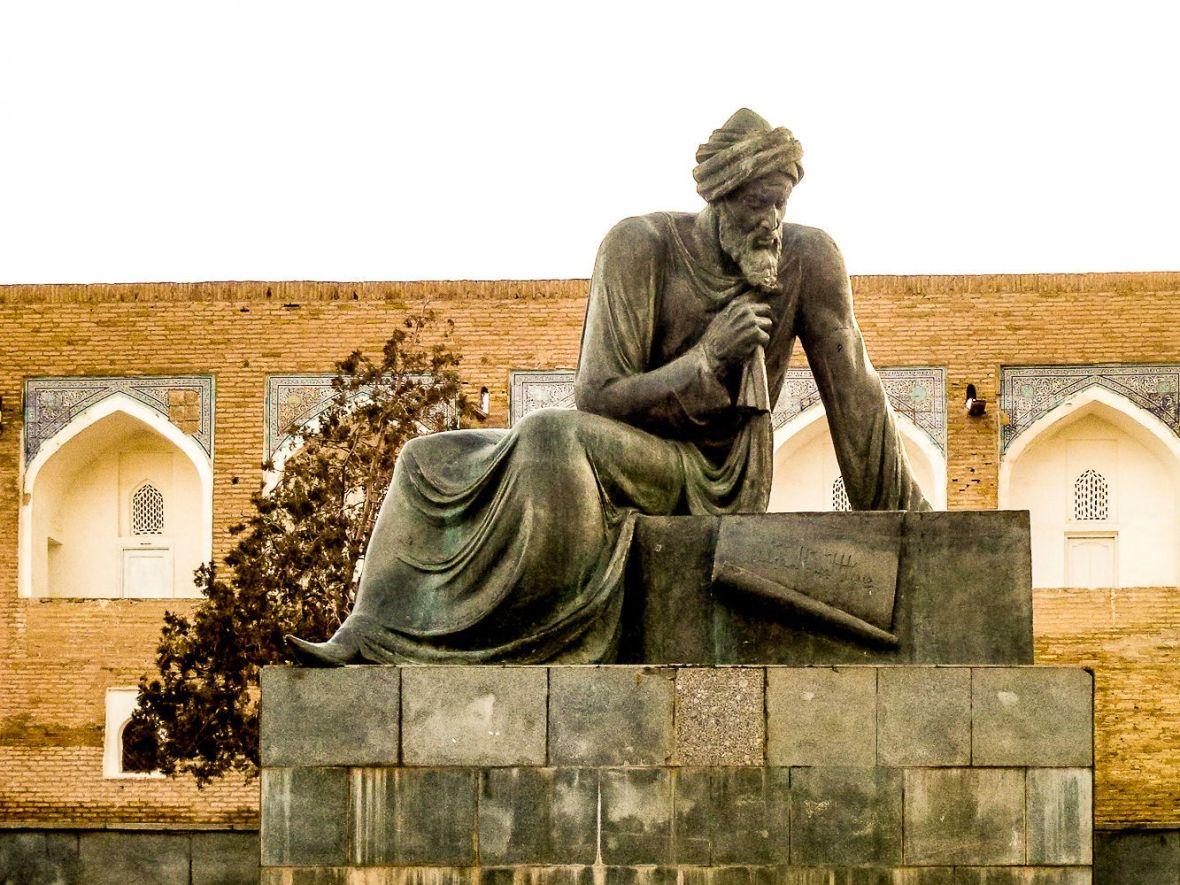 Al-Khorezm-statue-Khiva-Uzbekistan-inventor-algebra